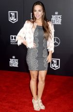 MARIA ELISA CAMARGO at People You May Know Premiere in Los Angeles 11/13/2017