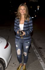 MARIA MENOUNOS at Craigs Restaurant in West Hollywood 11/06/2017