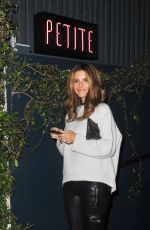 MARIA MENOUNOS at Le Petit Bistro in West Hollywood 11/18/2017