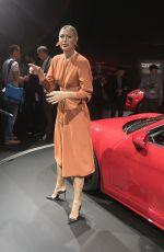 MARIA SHARAPOVA Unveiling of 2018 Porsche 718 Cayman GTS at Los Angeles Auto Show 11/29/2017