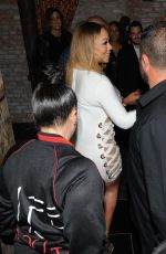 MARIAH CAREY Night Out in Los Angeles 11/11/2017