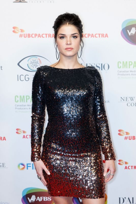 MARIEAVGEROPOULOS at 6th Annual ubcp/actra Awards in Vancouver 11/18/2017