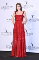 MARINA RUY BARBOSA at 2017 International Emmy Awards in New York 11/20/2017
