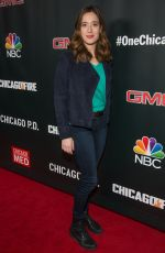 MARINA SQUERCIATI at 3rd Annual NBC One Chicago Party in Chicago 10/31/2017