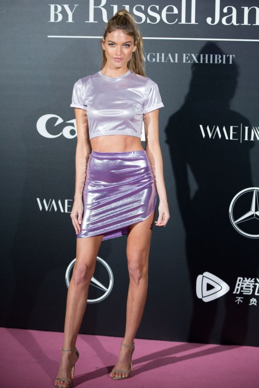 MARTHA HUNT at Mercedes-Benz Backstage Secrets by Russell James Book Launch and Shanghai Exhibition Opening Party 11/18/2017