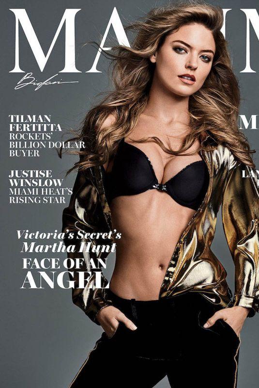 MARTHA HUNT for Maxim Magazine, December 2017