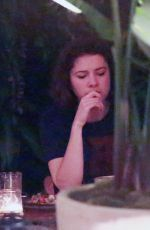 MARY ELIZABETH WINSTEAD and Ewan McGregor Out for Dinner at Palihouse in Los Angeles 11/21/2017