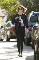 MARY ELIZABETH WINSTEAD Out in Los Angeles 11/18/2017