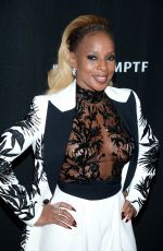 MARY J. BLIGE at 2017 Hollywood Film Awards in Beverly Hills 11/05/2017