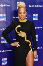 MARY J. BLIGE at 2017 IFP Gotham Independent Film Awards in New York 11/27/2017