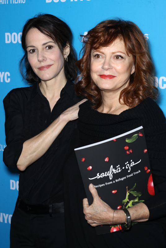 MARY-LOUISE PARKER and SUSAN SARANDON at Soufra Premiere in New York 1/12/2017