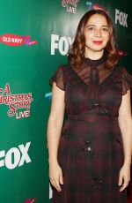 MAYA RUDOLPH at A Christmas Story Live! Lighting Event in Los Angeles 11/24/2017