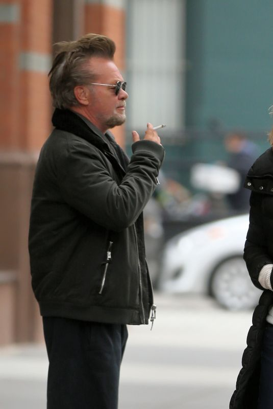 MEG RYAN and John Mellencamp Out for Breakfast in New York 11/18/2017