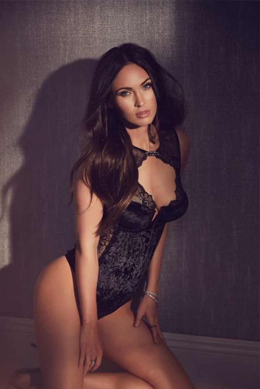 MEGAN FOX for Frederick's of Hollywood, Holliday 2017 Collection