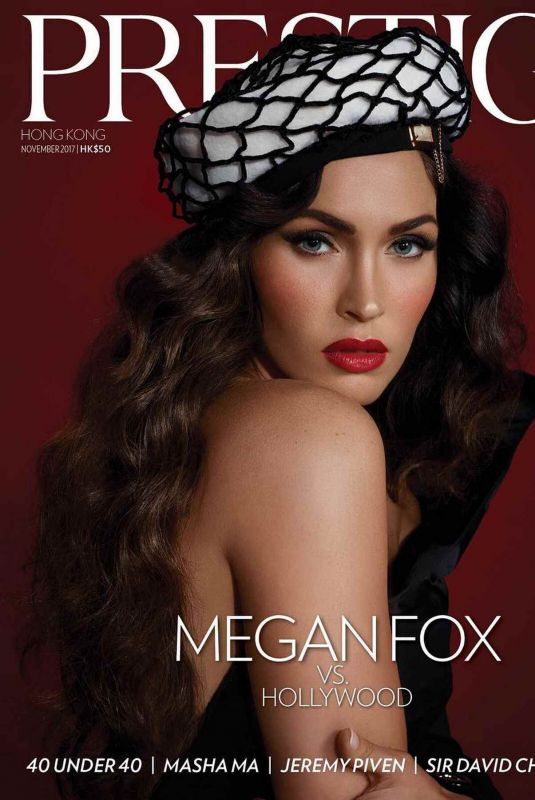 MEGAN FOX for Prestige Magazine, Hong Kong November 2017