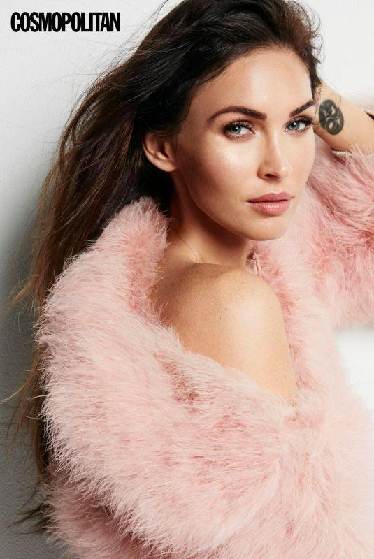 MEGAN FOX in Cosmopolitan Magazine, UK December 2017