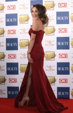 MEGAN MCKENNA at OK! Magazine Beauty Awards in London 11/28/2017