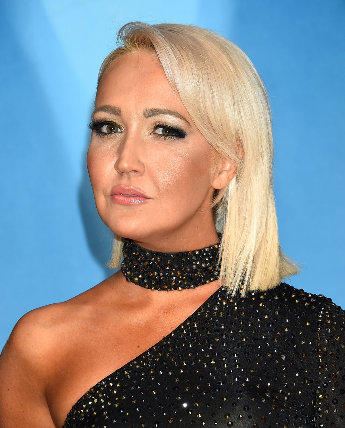 MEGHAN LINSEY At 51st Annual CMA Awards In Nashville 11/08