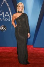 MEGHAN LINSEY at 51st Annual CMA Awards in Nashville 11/08/2017