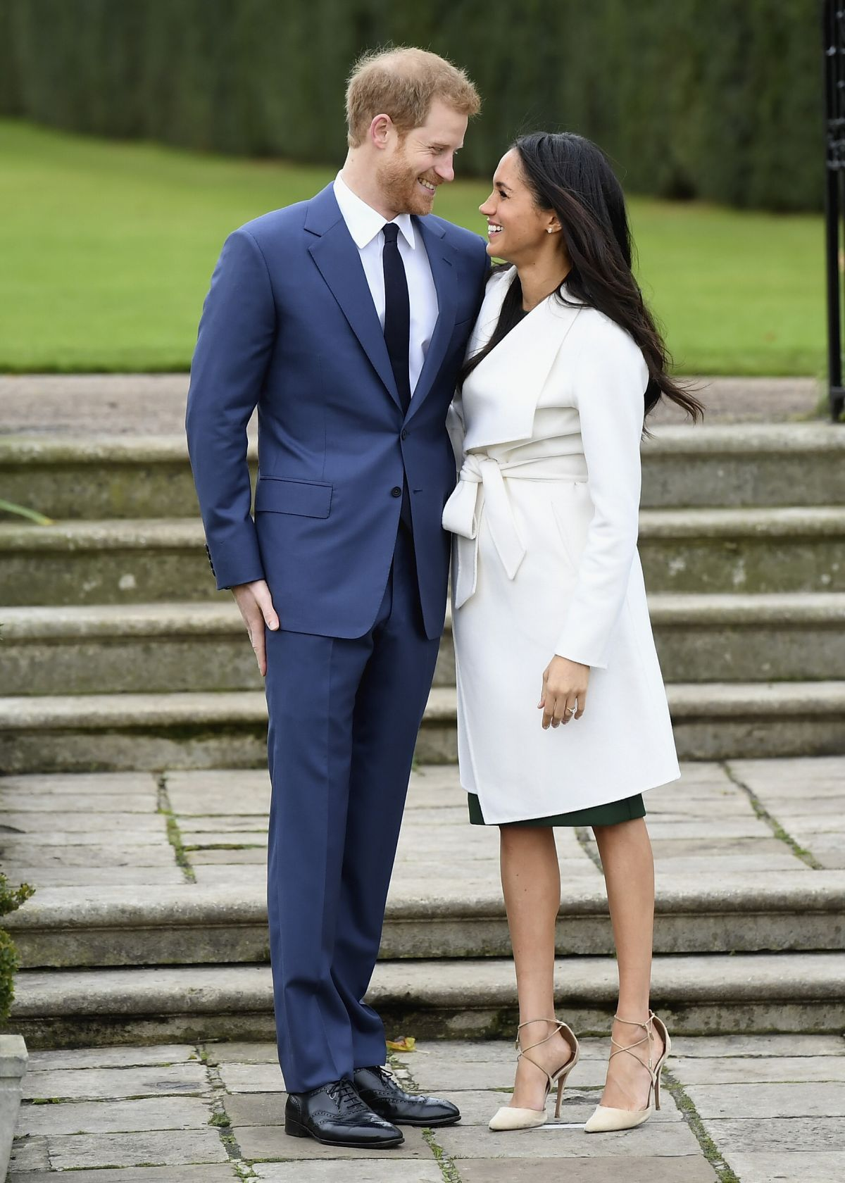 Meghan Markle And Prince Harry Announce Their Engagement