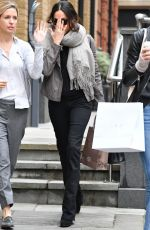 MEGHAN MARKLE Out Shopping in London 11/21/2017