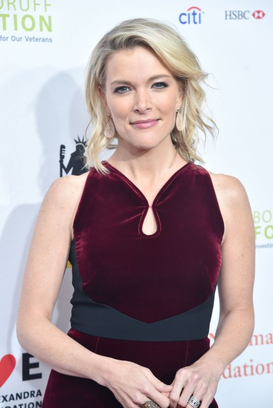MEGYN KELLY at 11th Annual Stand Up for Heroes in New York 11/07/2017