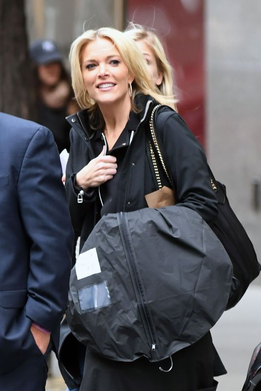 MEGYN KELLY Leaves NBC Studio in New York 11/10/2017