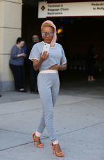 MELANIE BROWN and Gary Madatyan Out and About in Los Angeles 11/23/2017