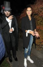 MELANIE SYKES at Jonathan Ross Halloween Party in London 10/31/2017