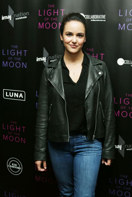 MELISSA FUMERO at The Light of the Moon Special Screening in Los Angeles 11/16/2017
