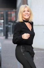 MICHELLE COLLINS Arrives at ITV Studios in London 11/28/2017