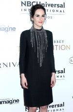 MICHELLE DOCKERY at Downton Abbey: The Exhibition in New York 11/17/2017