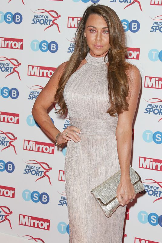 MICHELLE HEATON at Pride of Sport Awards in London 11/22/2017