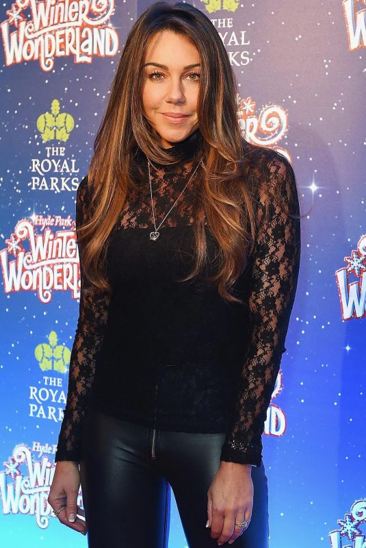 MICHELLE HEATON at Winter Wonderland VIP Launch in London 11/16/2017