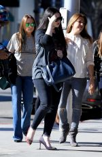 MICHELLE TRACHTENBERG Out for Lunch in Beverly Hills 11/06/2017