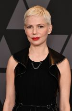 MICHELLE WILLIAMS at AMPAS 9th Annual Governors Awards in Hollywood 11/11/2017