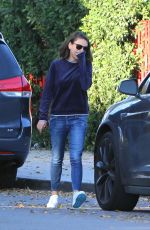 MILA KUNIS Arrives to Her Car in Los Angeles 11/27/2017