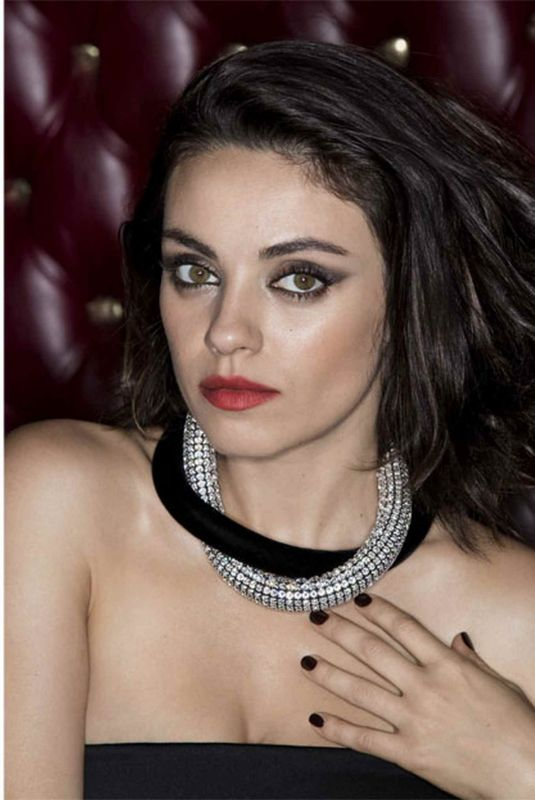 MILA KUNIS for The Edit Magazine, 2017