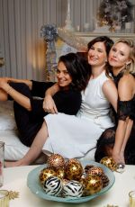 MILA KUNIS, KRISTEN BELL and KATHRYN HAHN for LA Times, 2017