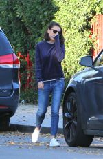 MILA KUNIS Out and About in Los Angeles 11/27/2017
