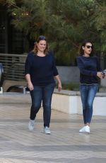 MILA KUNIS Out for Lunch in Studio City 11/27/2017