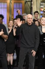 MILEY CYRUS at Saturday Night Live, Season 43, Episode 04 11/04/2017