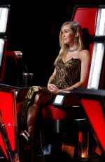 MILEY CYRUS at The Voice, Season 13 Live Shows 11/20/2017