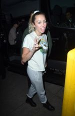 MILEY CYRUS Greeting Fans Out in New York 11/03/2017