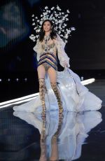 MING XI at 2017 Victoria's Secret Fashion Show in Shanghai 11/20/2017