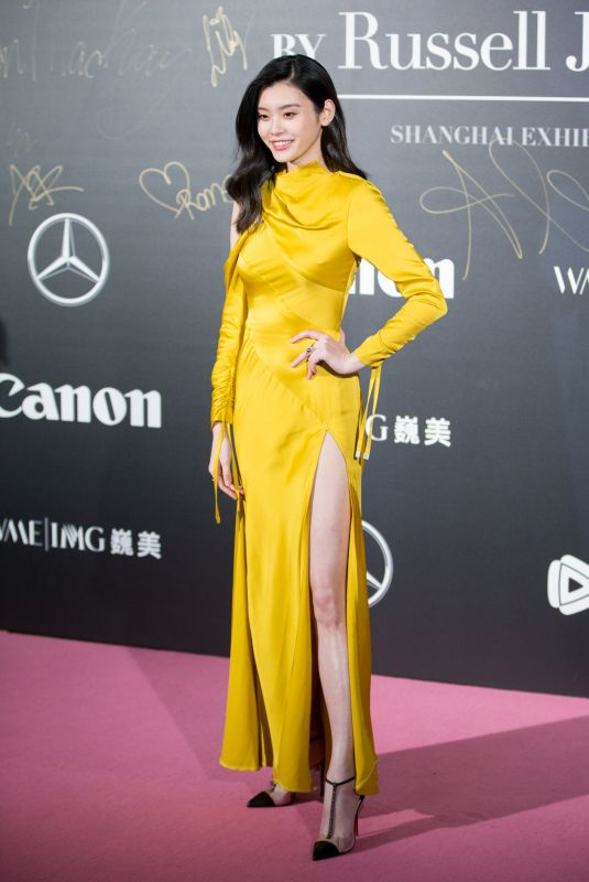 MING XI at Mercedes-Benz Backstage Secrets by Russell James Book Launch and Shanghai Exhibition Opening Party 11/18/2017