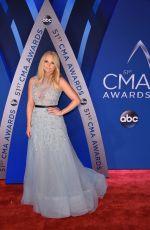 MIRANDA LAMBERT at 51st Annual CMA Awards in Nashville 11/08/2017