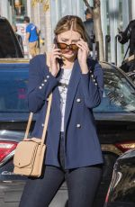 MISCHA BARTON Out in New York 11/09/2017