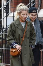 MOLLIE KING and AJ Pritchard Out for Lunch in London 11/08/2017