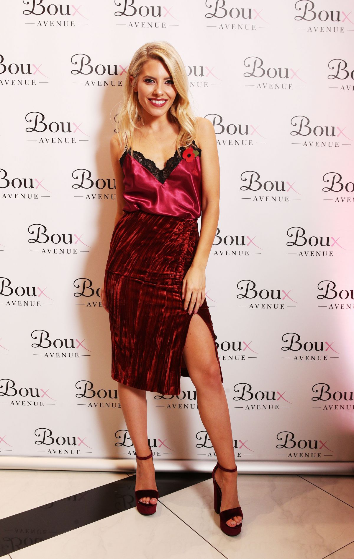 MOLLIE KING at Boux Avenue A/W17 Campaign Launch in London ...